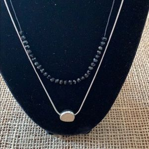 Jewelry - Silver Tone Necklace and Earring Set